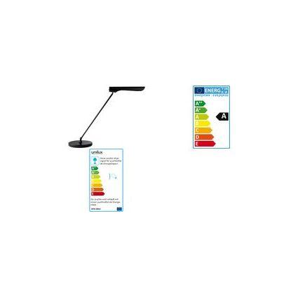unilux Energiespar-Tischleuchte URBAN, schwarz