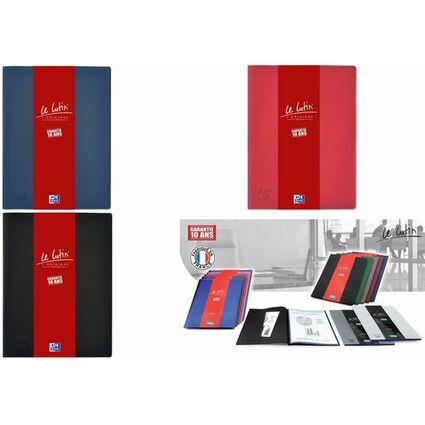 """ELBA Sichtbuch """"Le Lutin"""", DIN A4, mit 50 Hüllen, blau"""