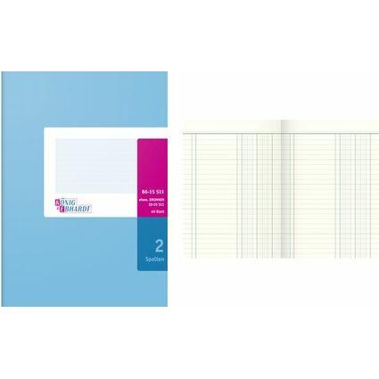 KÖNIG & EBHARDT Spaltenbuch DIN A5, 2 Spalten, 40 Blatt