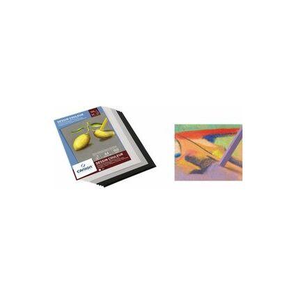 CANSON Zeichenpapier-Block, DIN A4, 150 g/qm, farbig