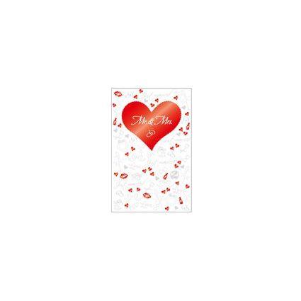 """SUSY CARD Hochzeitskarte """"Ringe & Schrift"""""""