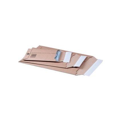 smartboxpro Versandtasche, aus brauner Wellpappe, für CD