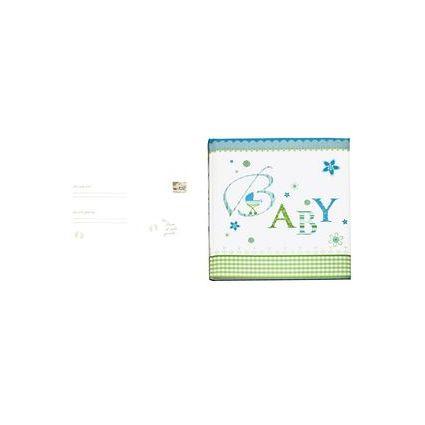 """goldbuch Babyalbum """"Lovely"""", 60 Seiten, blau, bunt bedruckt"""
