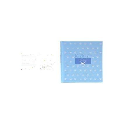 """goldbuch Babyalbum """"Kleiner Prinz"""", 60 Seiten, blau"""