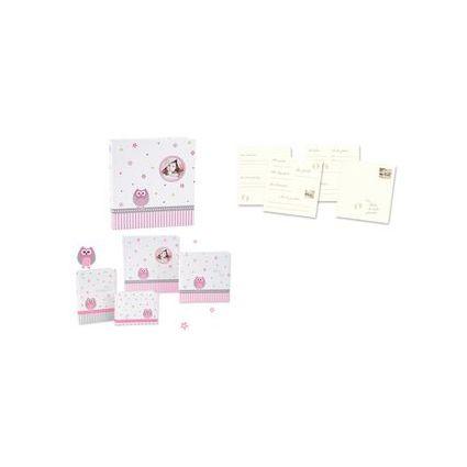 "goldbuch Babyalbum ""Babyworld Eule"", 60 Seiten, rosa"