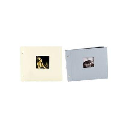 "goldbuch Schraubalbum ""Chromo"", 40 Seiten, silber"