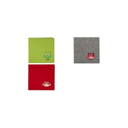"goldbuch Poesiealbum ""FilZit"", 165 x 165 mm, apfelgrün"