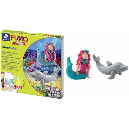 "FIMO kids Modellier-Set Form & Play ""Mermaid"", Level 3"