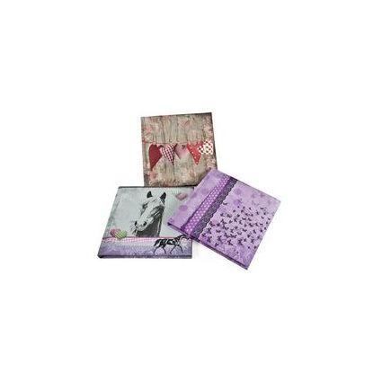 """goldbuch Poesiealbum """"Collage"""", 165 x 165 mm, 96 Seiten"""