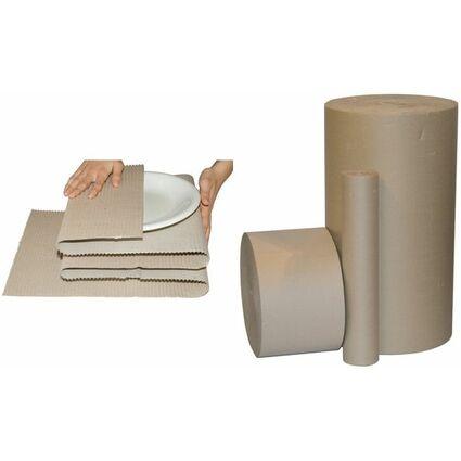 smartboxpro Wellpappe, auf Rolle, 700 mm x 5 m, braun