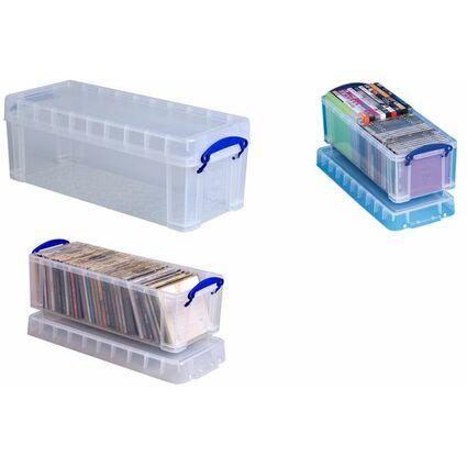 Really Useful Box Aufbewahrungsbox 6,5 Liter, transparent