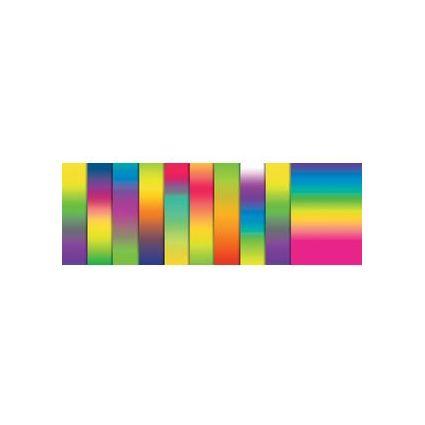 URSUS Regenbogen-Tonpapier, (B)340 x (H)495 mm, 130 g/qm