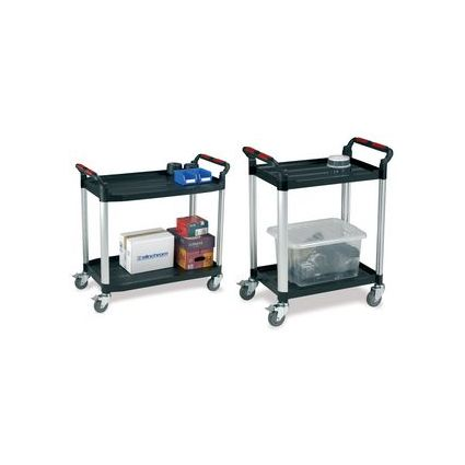 smartboxpro Etagenwagen/Servierwagen, 2 Etagen, groß