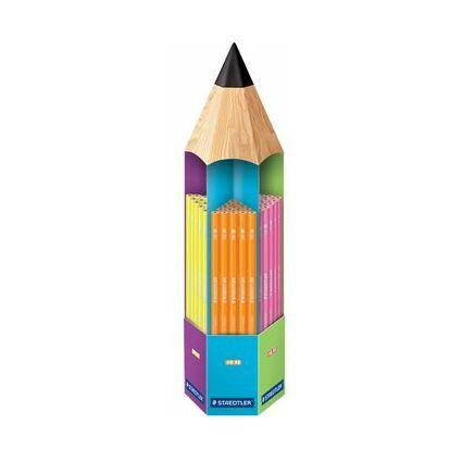 STAEDTLER Bleistift WOPEX neon, 90er Turmdisplay