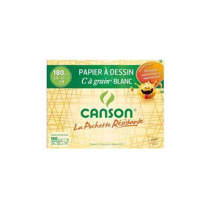 """CANSON Zeichenpapier """"C"""" à Grain, 320 x 240 mm, 180 g/qm"""