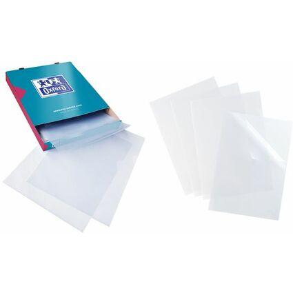 ELBA Sichthüllen SHINE A4, farblos, PP-Folienstärke: 0,12 mm