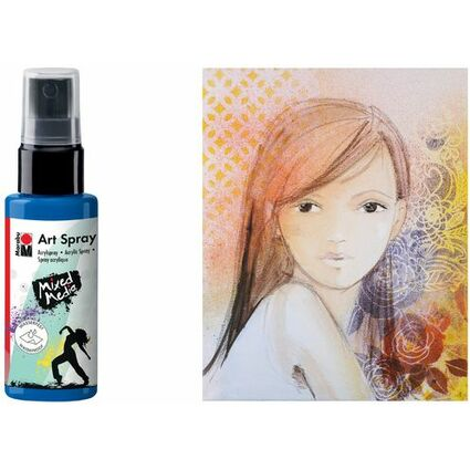 "Marabu Acrylspray ""Art Spray"", 50 ml, silber"
