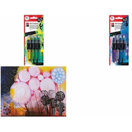 "Marabu Aquarell-Wachsmalstift ""Art Crayon"", Green Jungle"