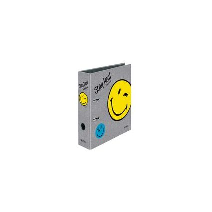 "herlitz Motivordner maX.file SmileyWorld ""Fancy"", DIN A4"