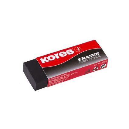 """Kores Kunststoff-Radierer """"KE20"""", schwarz"""