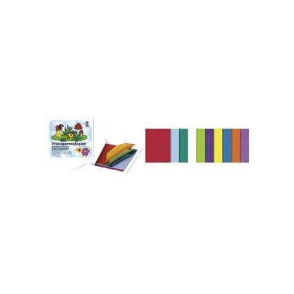URSUS Transparentpapier-Bastelheft, 200 x 300 mm, 42 g/qm