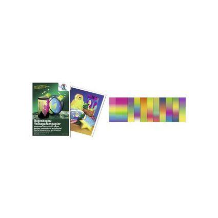URSUS Regenbogen-Transparentpapier, (B)205 x (L)330 mm