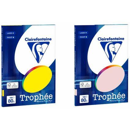 Clairalfa Universal-Papier Trophée, A4, Intensiv-Farben