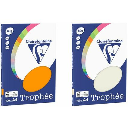 Clairalfa Universal-Papier Trophée, A4, Pastell-Farben