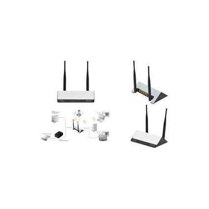 DIGITUS WLAN Breitband Router, 300 MBit/Sek.