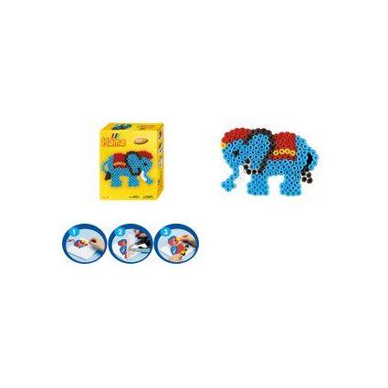 """Hama Bügelperlen midi """"Elefant"""", Mini-Geschenkpackung"""