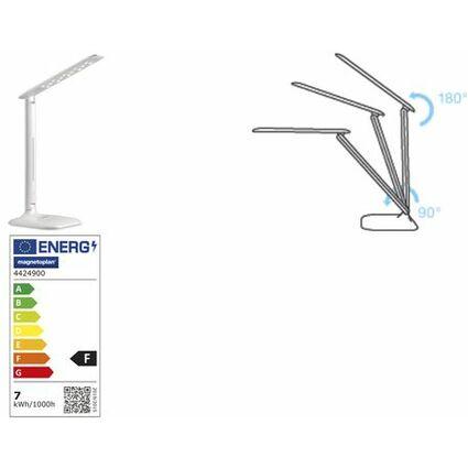 magnetoplan LED Tischleuchte Tropo, weiß