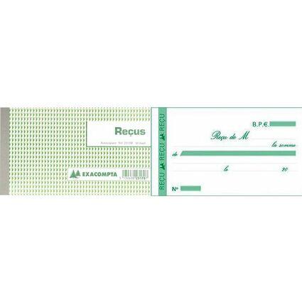 """EXACOMPTA Manifold """"Reçus"""", 105 x 180 mm, dupli"""