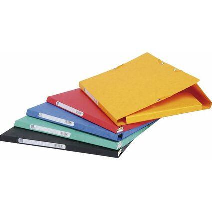 EXACOMPTA Sammelmappe, aus Karton, 425 g/qm, gelb