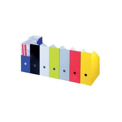 smartboxpro Stehsammler, Rückenbreite: 107 mm, schwarz