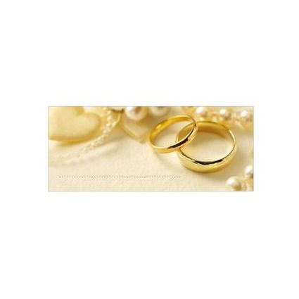 """SUSY CARD Tischkarten - Hochzeit """"Ringe"""""""