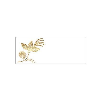 """SUSY CARD Tischkarten - Allgemein """"gepunktete Blüten"""""""