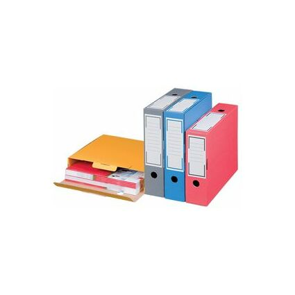 smartboxpro Archiv-Schachtel, grau, (B)86 mm