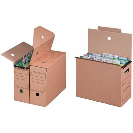 smartboxpro Hängemappen-Archiv, braun, (B)120 mm