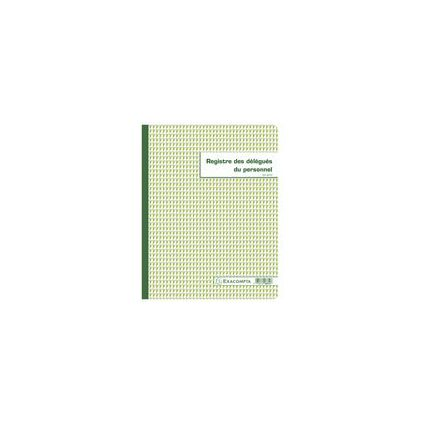 "EXACOMPTA Geschäftsbuch ""Délégués du personnel"", 320 x 240mm"