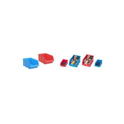 smartboxpro Sichtlagerkasten, Größe: 5, rot