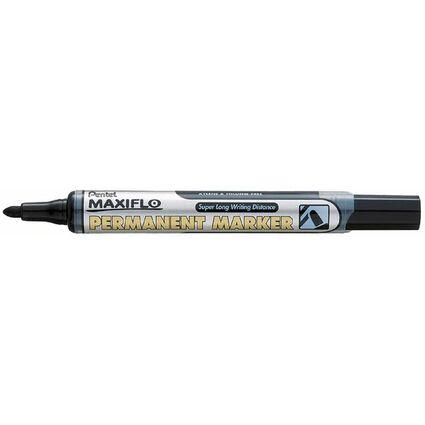 Pentel Permanent-Marker MAXIFLO NLF50, schwarz