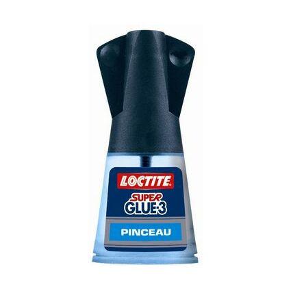 LOCTITE Sekundenkleber Super Glue Pinceau, 5 g Tube