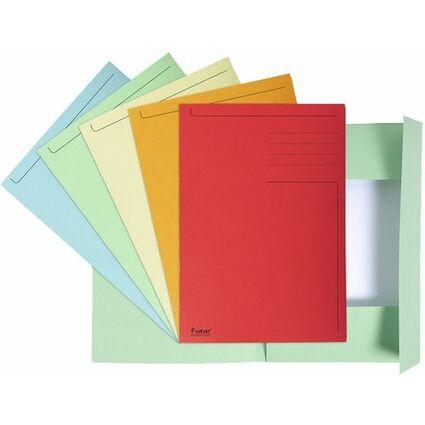 EXACOMPTA Aktenmappe, DIN A4, Karton, orange