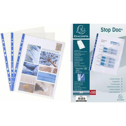 EXACOMPTA Prospekthülle Stop Doc, DIN A4, PP, transparent