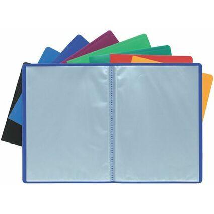EXACOMPTA Sichtbuch, DIN A4, PP, 60 Hüllen, rot
