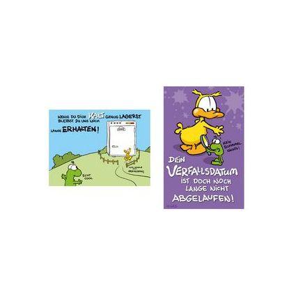 "SUSY CARD Geburtstagskarte - Humor ""Verfallsdatum"""