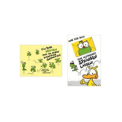 """SUSY CARD Geburtstagskarte - Humor """"Eine Kleinigkeit"""""""