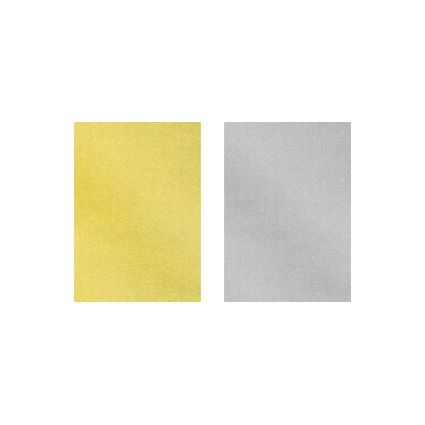 "HEYDA Boutique Natura Packpapier ""Gold & Silber"", auf Rolle"