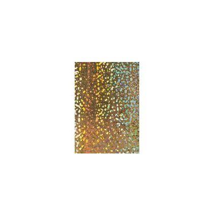 """HEYDA Weihnachts-Holografiekarton """"Sterne"""", gold"""