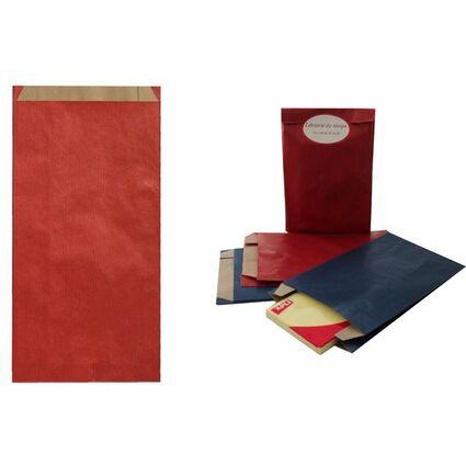 agipa Geschenkumschläge - aus Kraftpapier, groß, rot